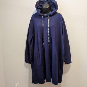 NWT Yesta hoodie sweatshirt dress sz 18